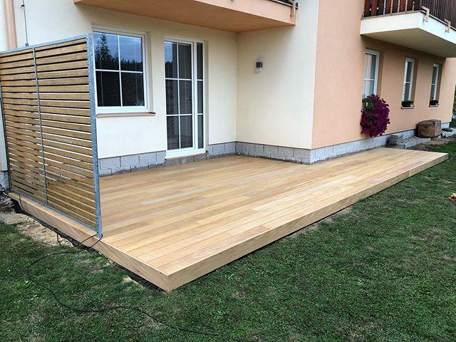 #jedna#rychla#jednodnova#montaz#terasy#z#garapy#garapa#terasa#terrace#terase#garden#oneday#montage#garapawood#wood#woodwork#dlhslovakia @dlh_slovakia
